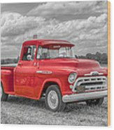 Chevy 3100   7d05235 Wood Print