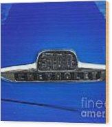 Chevy 3100 Emblem Wood Print