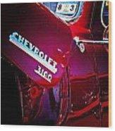 Chevy 3100 Wood Print