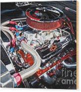 Chevy 396 Wood Print
