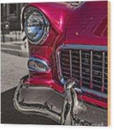Chevy Bel Air Wood Print