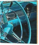 Chevy Bel Air Interior  II Wood Print