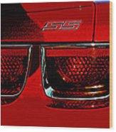 Chevy Camaro Wood Print
