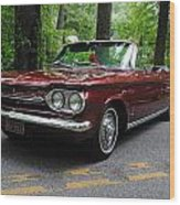Chevy Corvair Wood Print