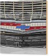 Chevy Nation 1957 Bel Air Wood Print