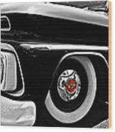 Chevy Truckin Wood Print