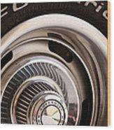 Chevy Wheel Wood Print