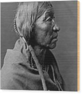 Cheyenne Indian Woman Circa 1910 Wood Print