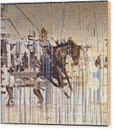 Cheyenne Spurs Wood Print