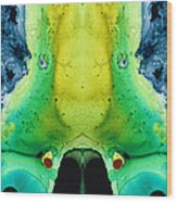Chi Ant - Aka Mr Happy Bug By Sharon Cummings Wood Print