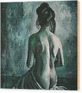 Chiaro Di Luna  Wood Print
