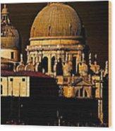 Chiaroscuro Venice Wood Print