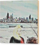 Chicago 2008 Wood Print