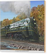 Chicago And North Western Class E-4 Wood Print