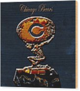 Chicago Bears Wood Print