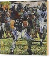 Chicago Bears Te Zach Miller Training Camp 2014 Pa 04 Wood Print