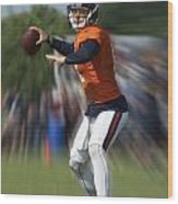 Chicago Bears Training Camp 2014 Moving The Ball 06 Wood Print