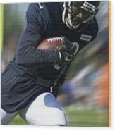 Chicago Bears Training Camp 2014 Moving The Ball 09 Wood Print