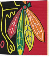Chicago Blackhawks 2 Wood Print
