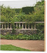 Chicago Botanic Garden Scene Wood Print