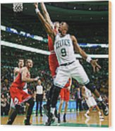 Chicago Bulls V Boston Celtics Wood Print