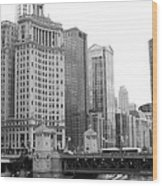 Chicago Downtown 2 Wood Print
