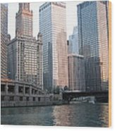 Chicago Highrise Wood Print