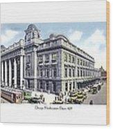 Chicago Illinois - Northwestern Railroad Station - 1927 Wood Print