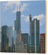 Chicago - It's Your Kind Of Town Wood Print