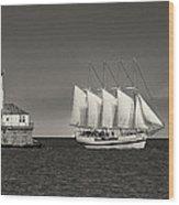 Chicago Lighthouse Wood Print
