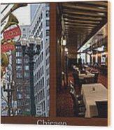 Chicago Macys Department Store 2 Panel Wood Print