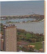 Chicago Montrose Harbor 01 Wood Print