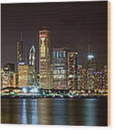 Chicago  Nhl Blackhawks Wood Print