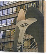 Chicago Picasso Wood Print