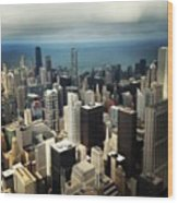 Chicago, Second To None Wood Print