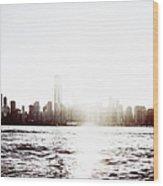 Chicago Skyline II Wood Print
