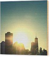 Chicago Skyline IIi Wood Print