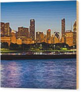 Chicago Skyline Wood Print