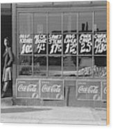 Chicago Store, 1941 Wood Print