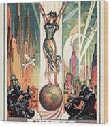 Chicago World's Fair 1933 Wood Print