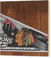 Chicao Blackhawk Wood Print