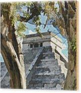 Chichen Itza - Yucatan Mexico Wood Print