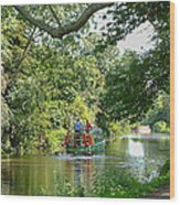 Chichester Canal Wood Print