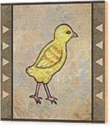 Chick One Wood Print