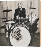 Chick Webb (1909-1939) Wood Print by Granger