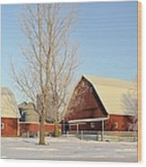 Chickasaw Farm Wood Print