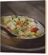 Chicken Stew Wood Print