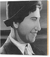 Chico Marx Wood Print by Peggy Dreher