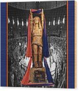 Chief Illiniwek University Of Illinois 04 Wood Print