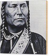 Chief Joseph Nez Perce Leader Wood Print